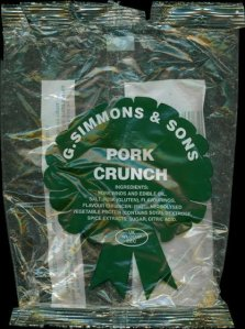 G. Simmons Sons Pork Crunch Review - Pork Scratching Bags