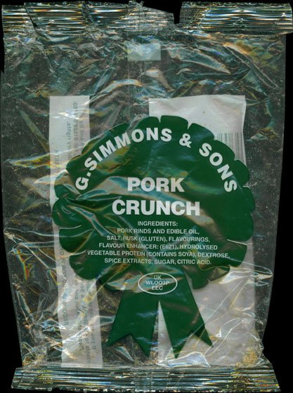 G. Simmons Sons Pork Crunch Review - G. Simmons & Sons, Pork Crunch Review