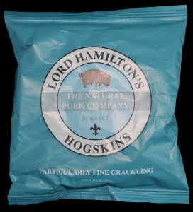 Lord Hamiltons Hogskins Sea Salt Particularly Fine Crackling Review - Pork Scratching Bags