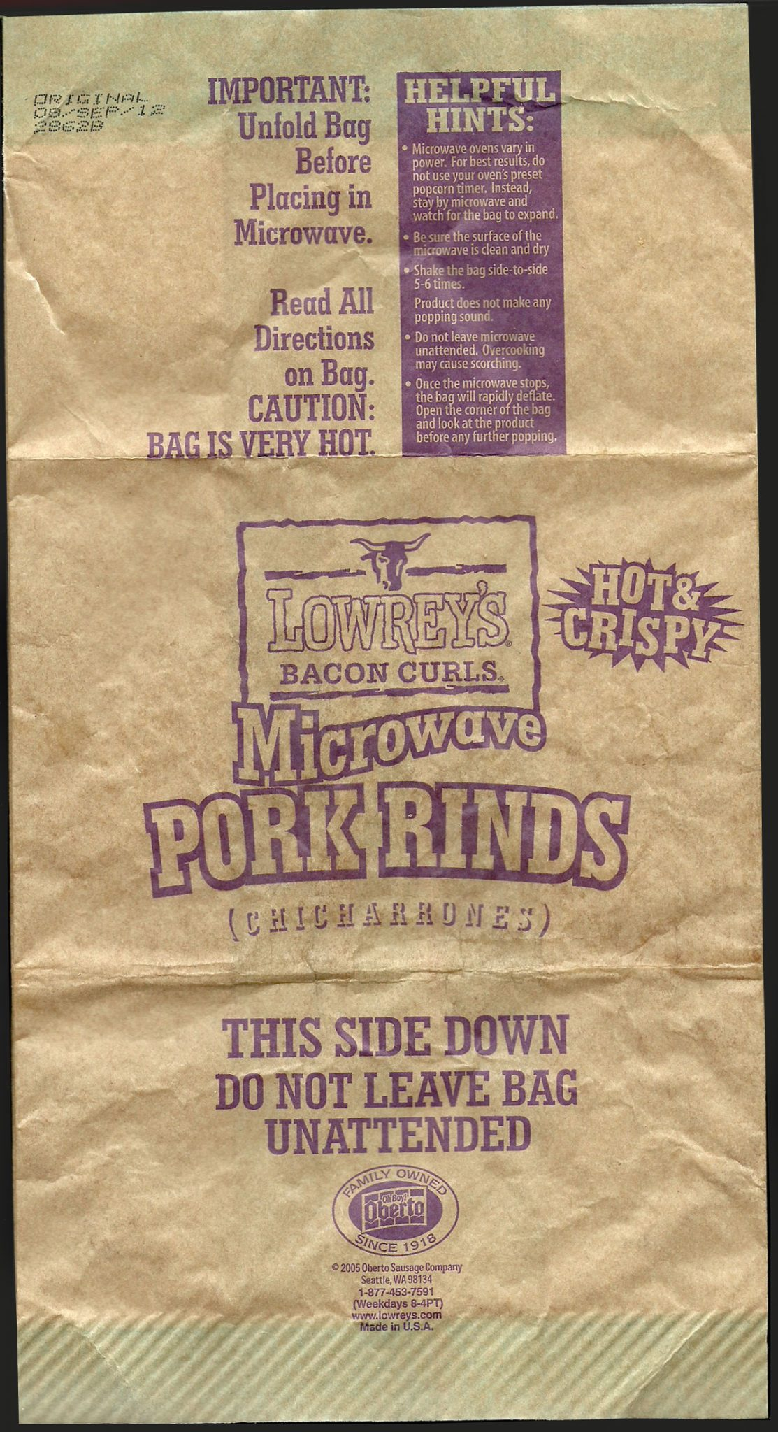 Lowreys Bacon Curls Microwave Pork Rinds Review2 - Lowrey's Bacon Curls, Microwave Pork Rinds Review