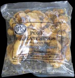Midland Snacks Clear Bag Traditional Pork Scratchings Review - Pork Scratching Bags