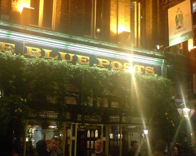 The Blue Posts Soho London Pub Reviewb - The Blue Posts (b), Soho, London - Pub Review