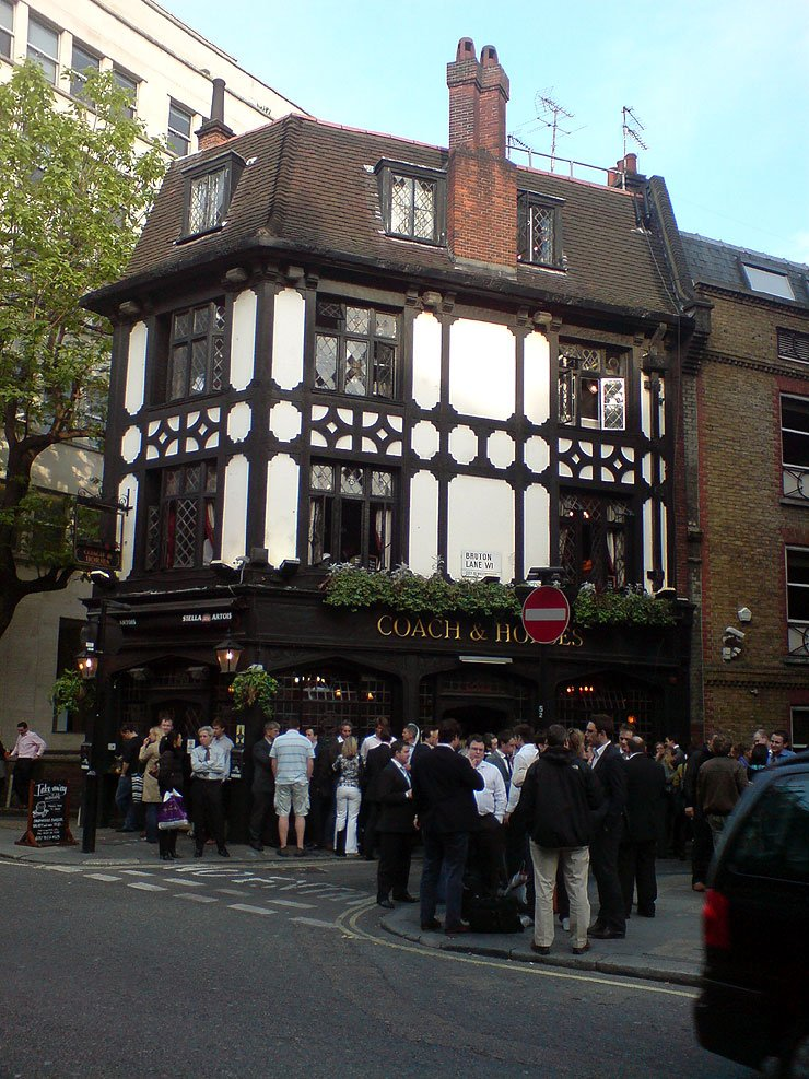 The Coach and Horses Mayfair London Pub Review - The Coach and Horses, Mayfair, London - Pub Review