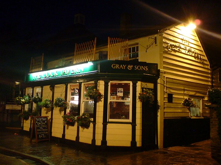 The Cock Tavern Ongar Essex Pub Review - The Cock Tavern, Ongar, Essex - Pub Review