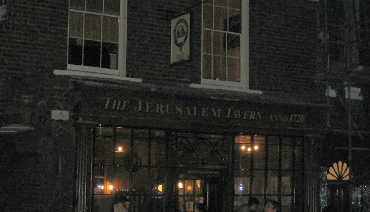 The Jerusalem Tavern Clerkenwell London Pub Review - The Jerusalem Tavern, Clerkenwell, London - Pub Review