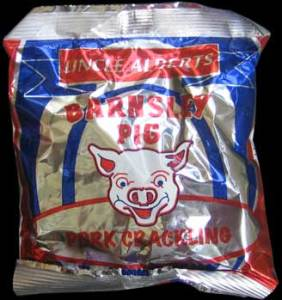 Uncle Alberts Barnsley Pig Pork Crackling Review - Pork Scratching Bags