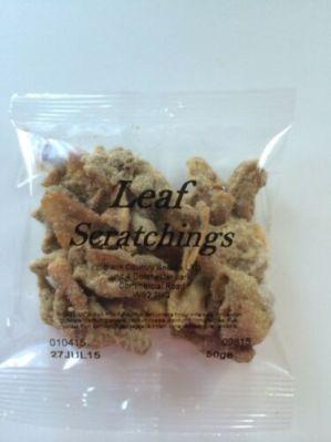 not leaf scratchings