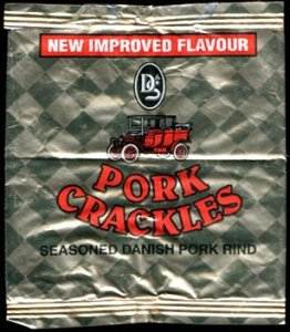 D S Pork Crackles Review - Pork Scratching Bags