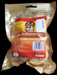 Familia Foods Chicarones Vinegar Flavour Pork Crackling Review - Pork Scratching Bags