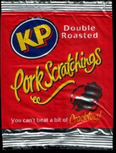 KP Double Roasted Pork Scratchings Review - Pork Scratching Bags