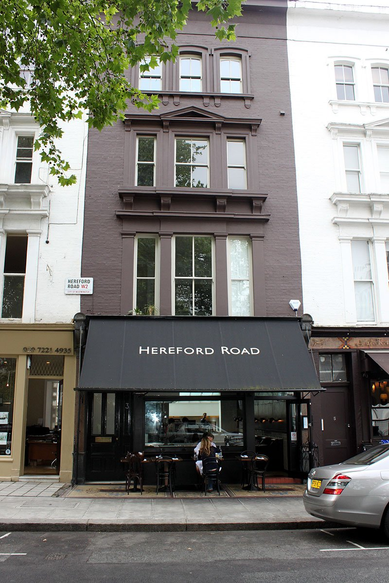 Part 2 - Hereford Road Restaurant