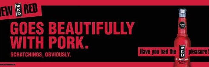 wkd red pub advert - WKD Pub Advert