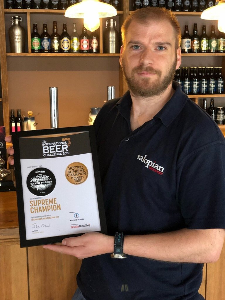 shropshire beer best in the world 768x1024 - Shropshire beer is crowned best in the world
