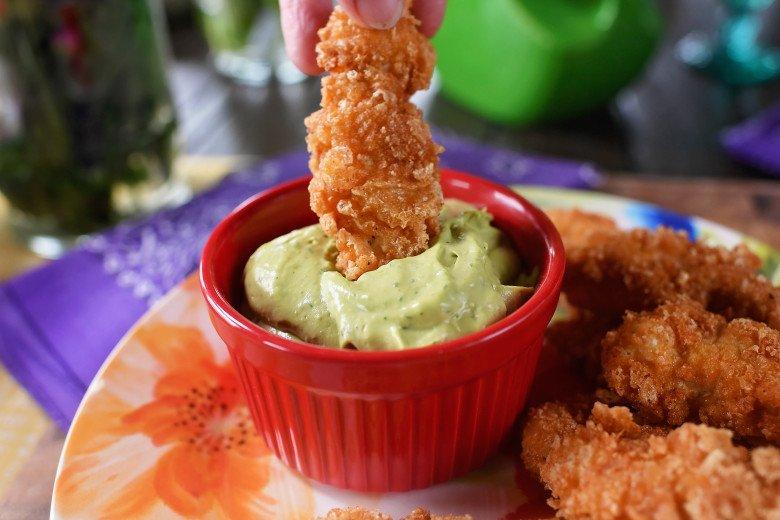 DSC 4895 - Pork Rind/Crunch Chicken Strips Recipe!