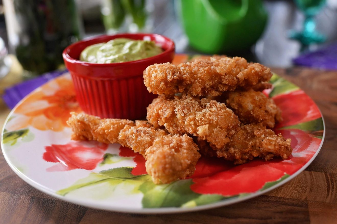 Pork Rind/Crunch Chicken Strips Recipe!