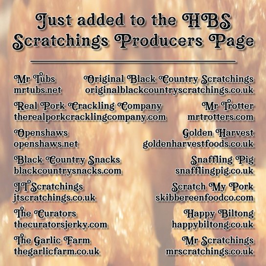 Just added to the Hairy Bar Snacks Producers Page