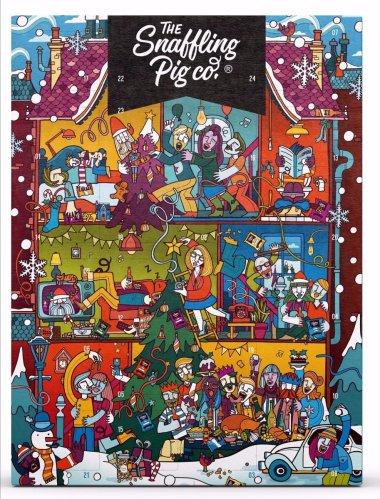 snaffling pig pork scratchigs advent calendar 2019 - The History of the Pork Scratchings Advent Calendar