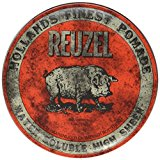 Reuzel Pomade Review (Red, Blue, Pink & Green) 1