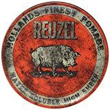 Impressive Reuzel Pomade Review - 4 Different Cans, Red, Pink, Green, Blue 2