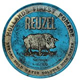 Impressive Reuzel Pomade Review - 4 Different Cans, Red, Pink, Green, Blue 2