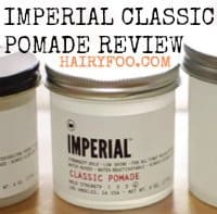 Imperial Classic Pomade Review (The name says it all) 5