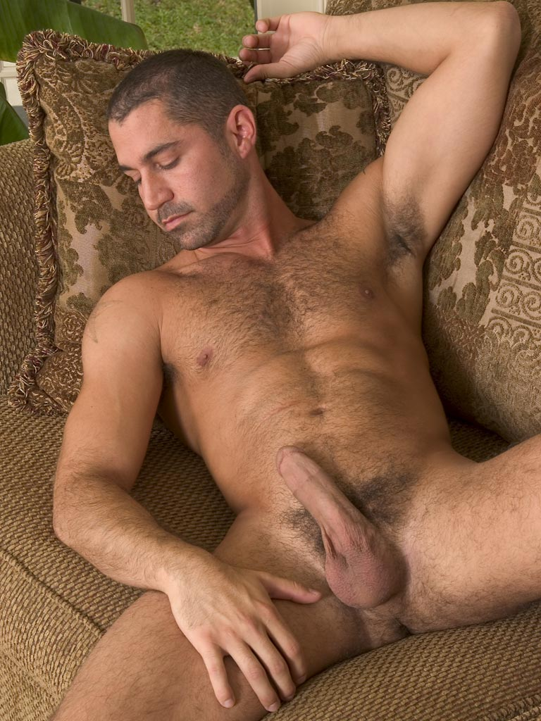 Hot Hairy Hunk Ken Jerks Off At Randy Blue   Hairy Guys -4531
