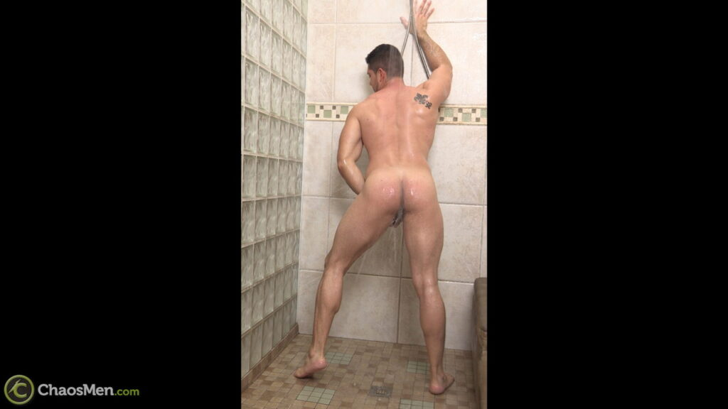 from Brian two gay men in shower