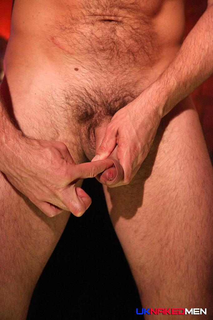 Beefy Spanish Man Sandro Sanchez Jerks Off His Big Uncut -8005