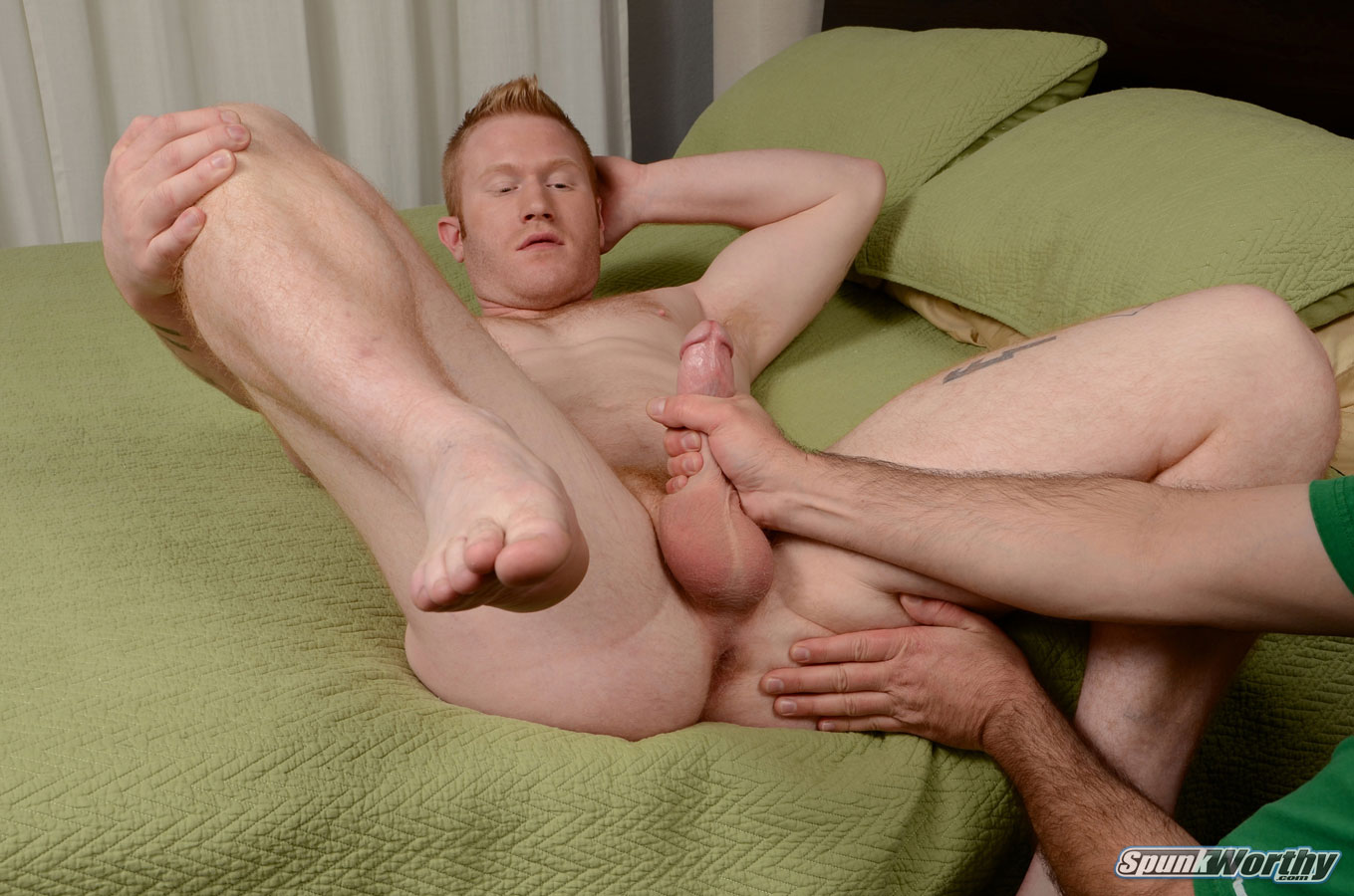 Ginger Beefcake Perry Blown - Hairy Guys In Gay Porn-8763