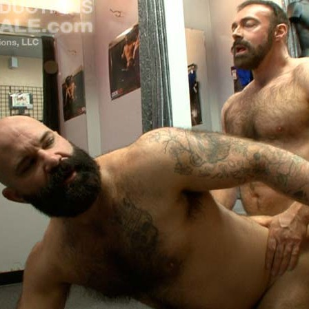 sexy bear brad kalvo fucks hairy bottom victor west