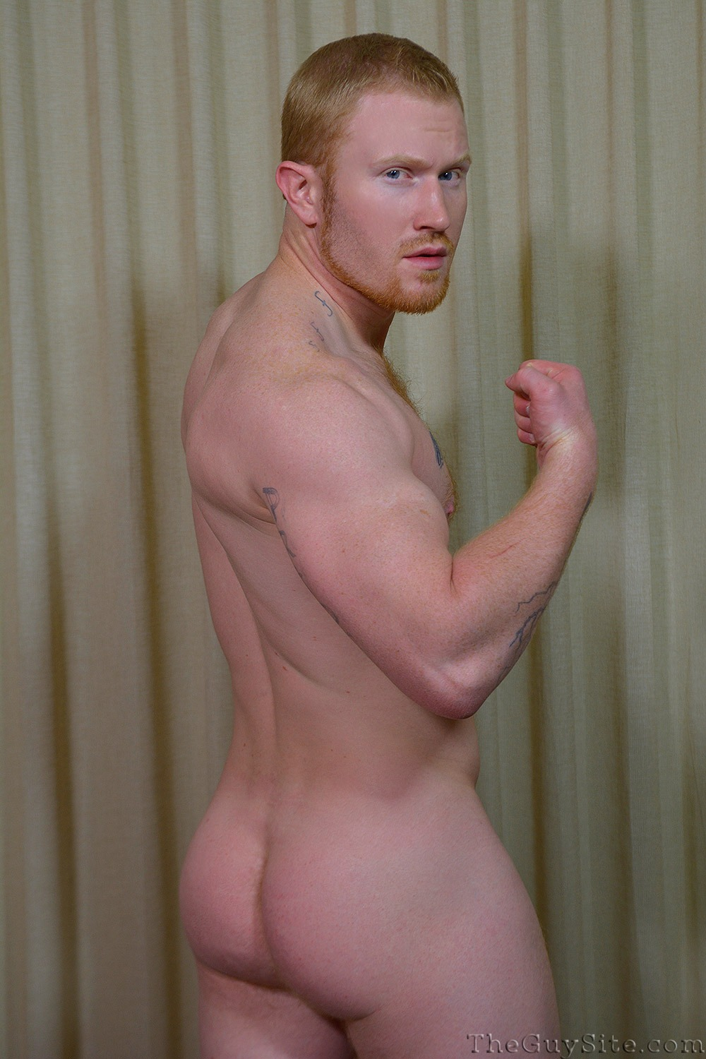 Colby Shows Off His Bubble Ass And Big Dick - Hairy Guys -7119