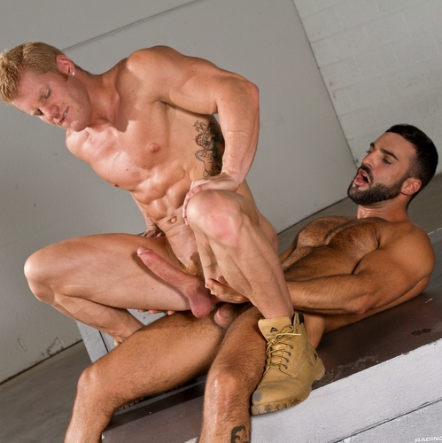abraham al malek fucks blond johnny v
