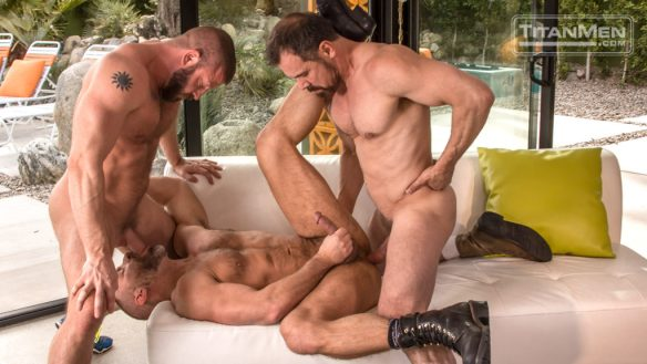 Hunter Marx and Max Sargent Fuck Officer Dirk Caber 0286
