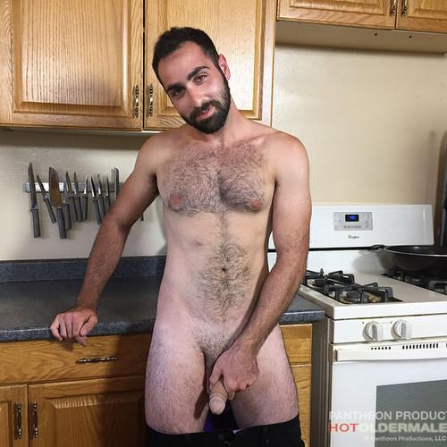 anthony naxos gets nasty in the kitchen