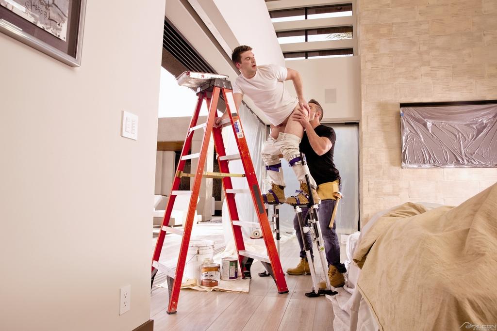 Sexy Contractors Work Hard 01