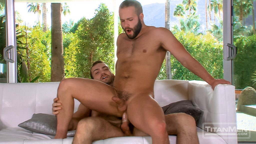 Hairy Stud Adam Thicke Fucks Luke Adams 09