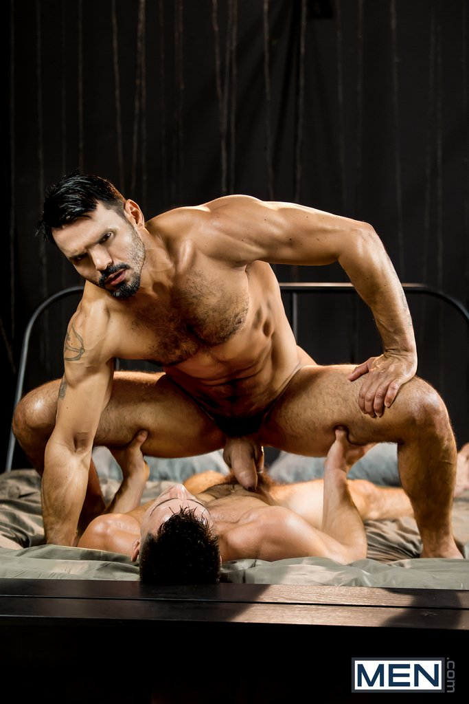 Hairy Hunk Jean Franko Gets Fucked By Paddy O'Brian 05