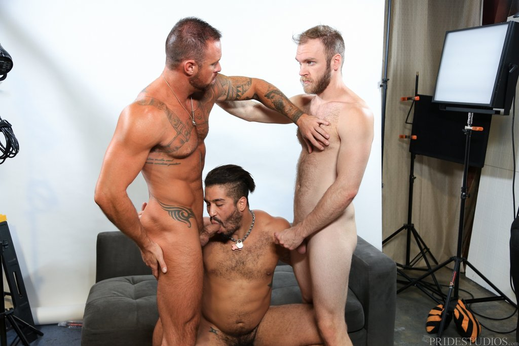 Two Hot Gay Models Have Threesome With Sexy Photographer 05