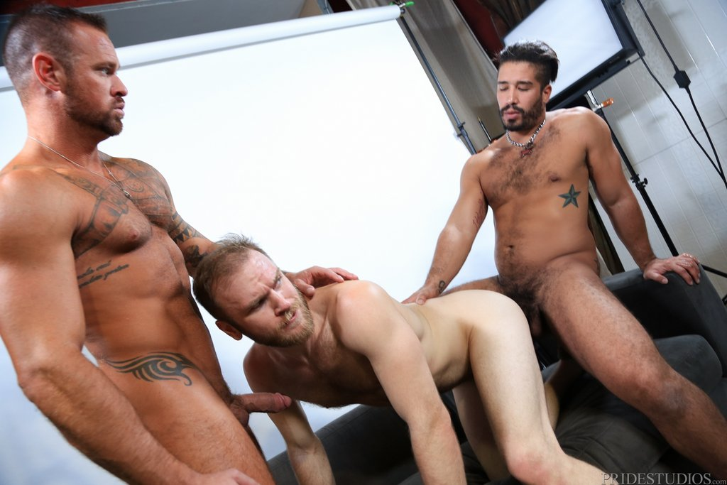 Two Hot Gay Models Have Threesome With Sexy Photographer 07