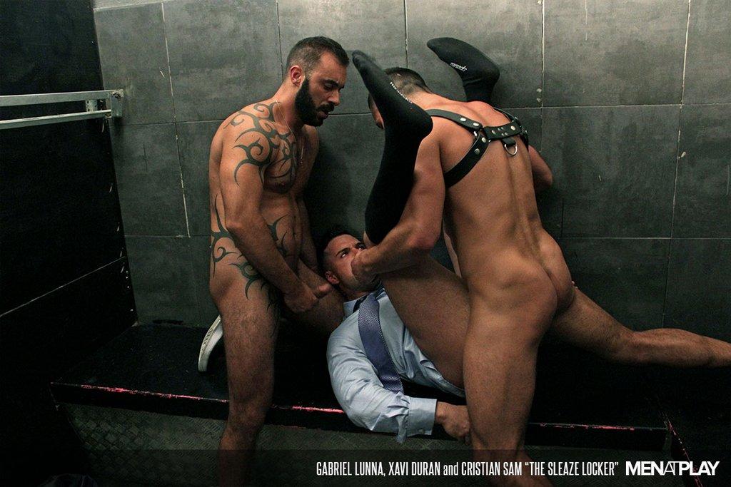 Xavi Duran and Cristian Sam Fuck Gabriel Lunna Hard 04