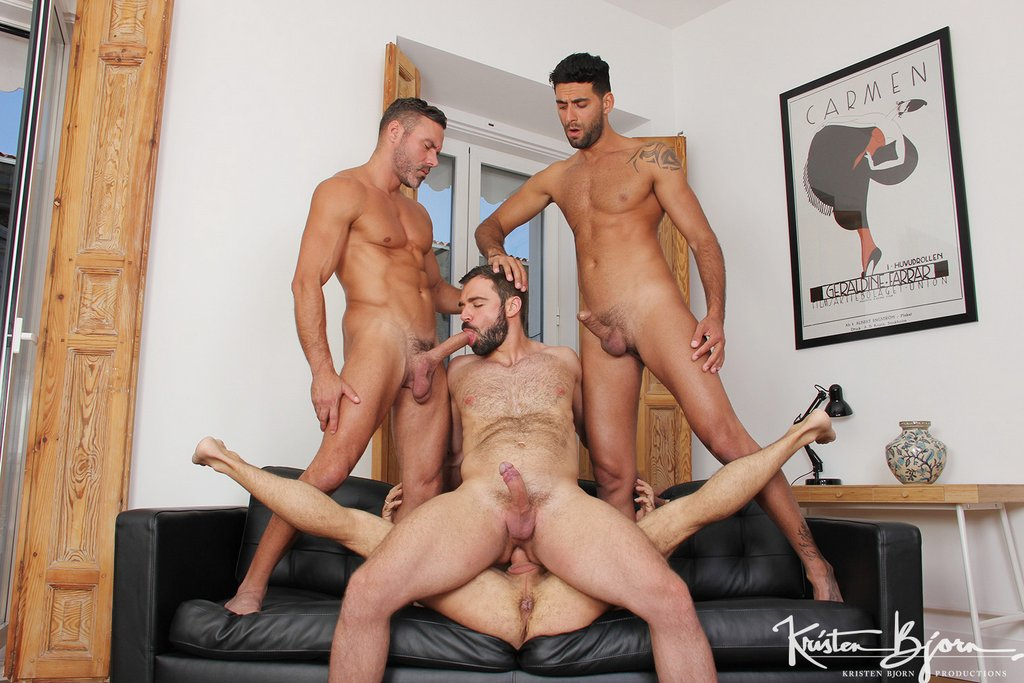 Two Hot Gay Couples Fuck Raw 03