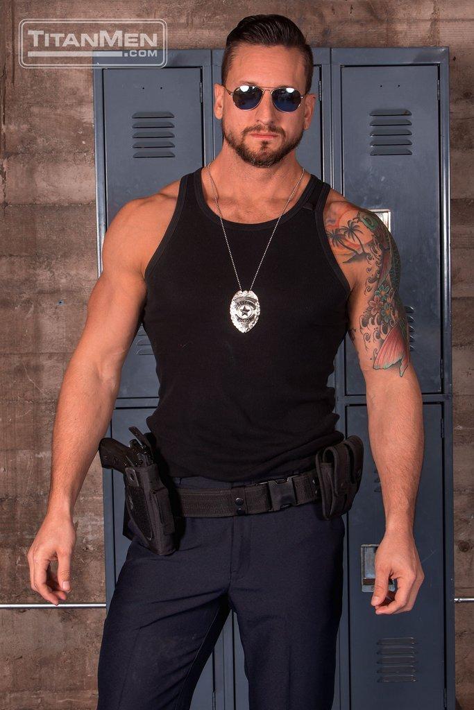 Bad Cop Dakota Rivers Strips His Uniform 01