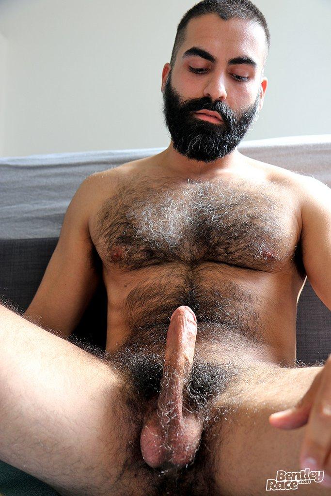 Hot Hairy Stud Bastien Passif Jerks Off 06