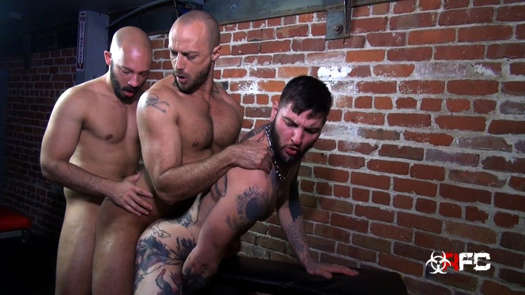 Three Horny Guys Fuck Raw 08