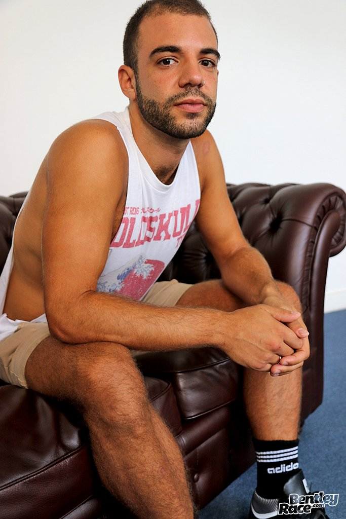 Hairy Guy Layton Charles Shows off 01