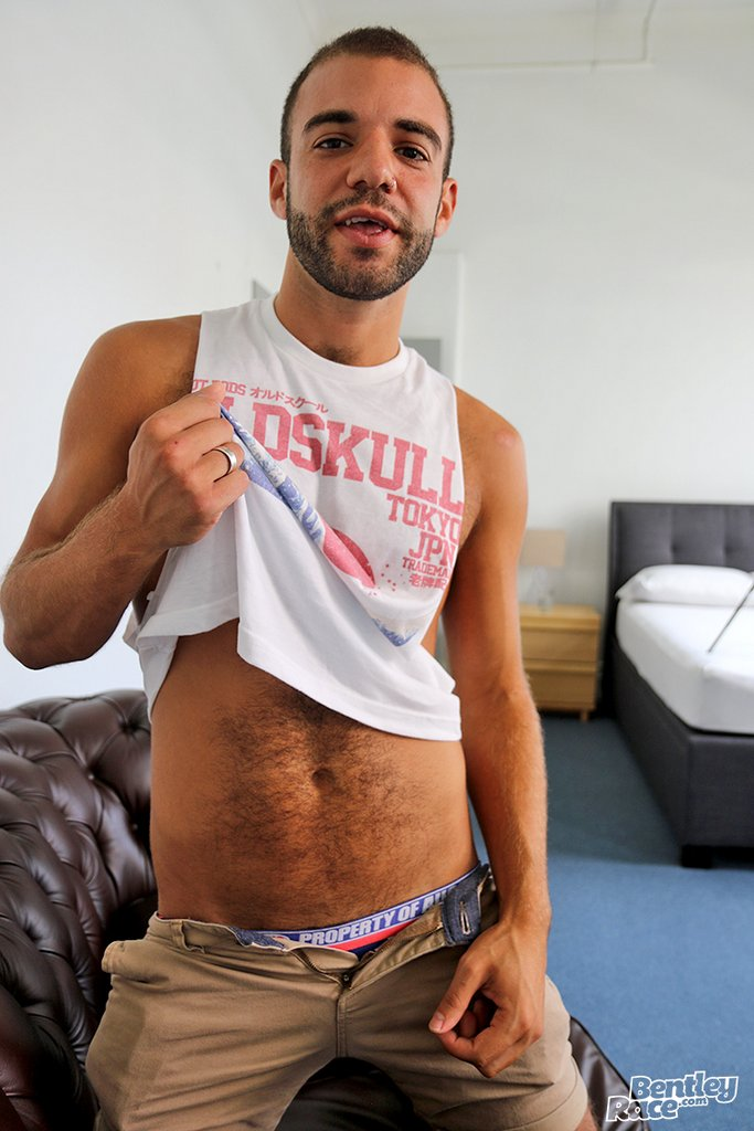 Hairy Guy Layton Charles Shows off 03