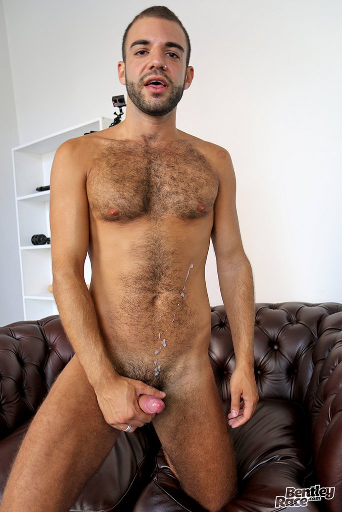 Hairy Guy Layton Charles Shows off 32