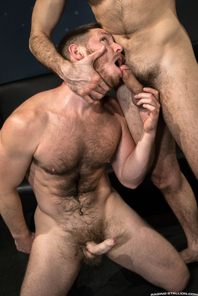 Two Sexy Hairy Guys Suck Dicks 03