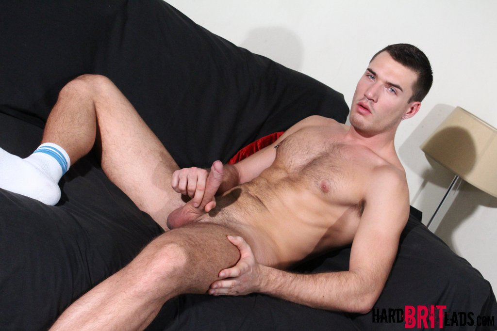 Theo Ford Jerks His Uncut Cock 10