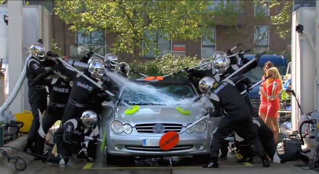 Jenson Button Car Wash Ad